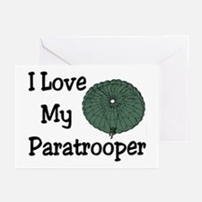 Paratrooper Love Greeting Cards (Pk of 10)