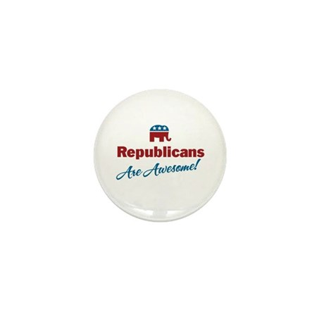 Republicans are Awesome! Mini Button (100 pack)