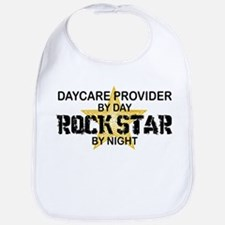 Daycare Provider Rock Star Bib