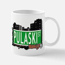 PULASKI ST, BROOKLYN, NYC Mug