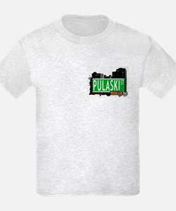 PULASKI ST, BROOKLYN, NYC T-Shirt