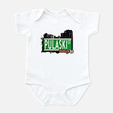 PULASKI ST, BROOKLYN, NYC Infant Bodysuit
