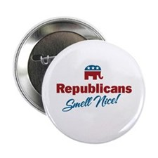 "Republicans Smell Nice! 2.25"" Button"