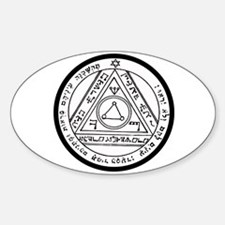 6th Pentacle of the Sun Invisibility Decal