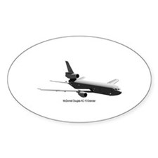 KC-10 Tanker Oval Decal