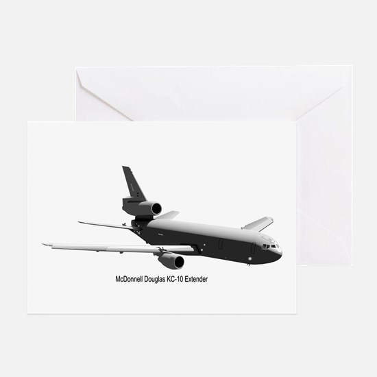 KC-10 Tanker Greeting Card
