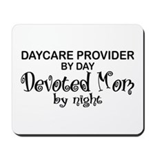 Devoted Mom Daycare Provider Mousepad