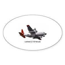 LC-130 Hercules Oval Decal