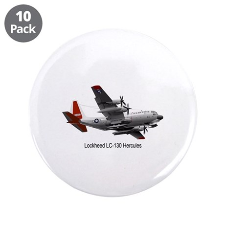 "LC-130 Hercules 3.5"" Button (10 pack)"