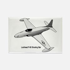F-80 Shooting Star Rectangle Magnet