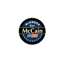 Blondes for McCain! Mini Button
