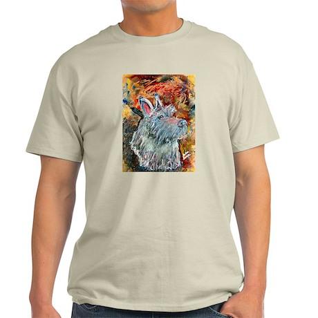 A Scottish Terrier Ash Grey T-Shirt