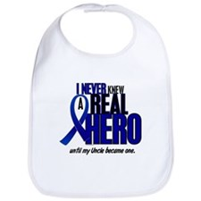 Never Knew A Hero 2 Blue (Uncle) Bib