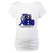 Never Knew A Hero 2 Blue (Uncle) Shirt