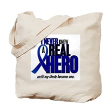 Never Knew A Hero 2 Blue (Uncle) Tote Bag