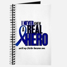 Never Knew A Hero 2 Blue (Sister) Journal