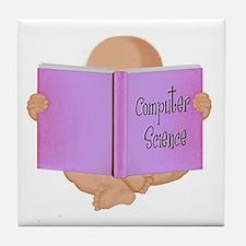 Brainy Baby Designs Tile Coaster