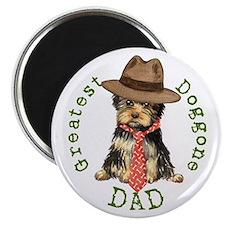 Yorkie Dad Magnet