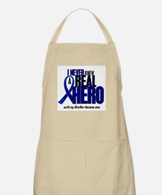 Never Knew A Hero 2 Blue (Brother) BBQ Apron