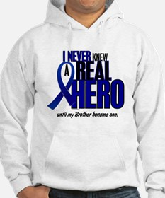 Never Knew A Hero 2 Blue (Brother) Hoodie