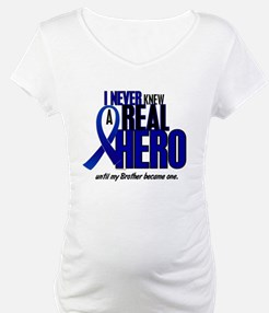 Never Knew A Hero 2 Blue (Brother) Shirt