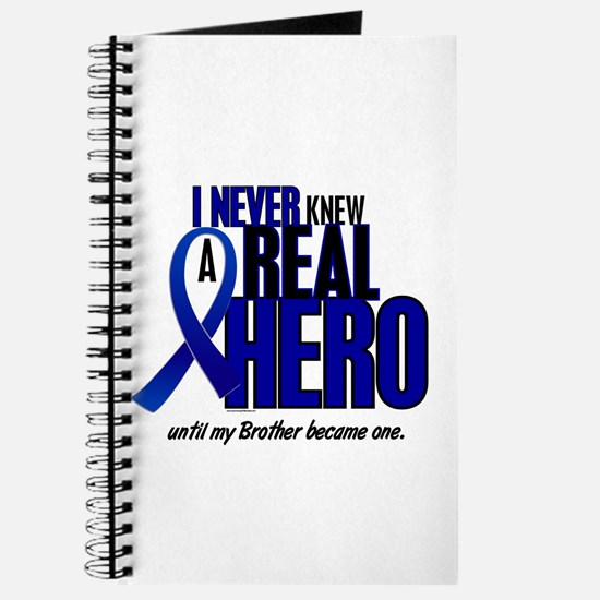 Never Knew A Hero 2 Blue (Brother) Journal