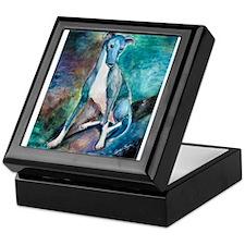 A Greyhound Keepsake Box