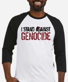I Stand Against Genocide Baseball Jersey