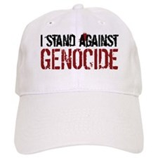 I Stand Against Genocide Baseball Cap