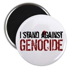 "I Stand Against Genocide 2.25"" Magnet (10 pac"