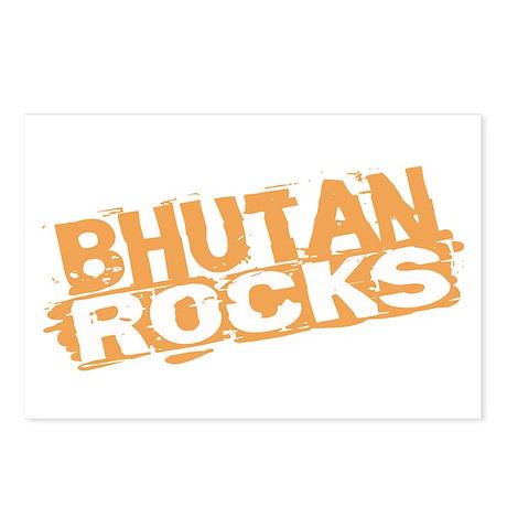 Bhutan Rocks Postcards (Package of 8)