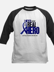 Never Knew A Hero 2 Blue (Grandma) Tee