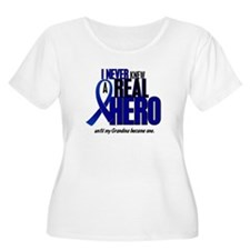 Never Knew A Hero 2 Blue (Grandma) T-Shirt