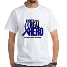 Never Knew A Hero 2 Blue (Grandma) Shirt