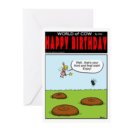 3 wishes Greeting Cards (Pk of 20)