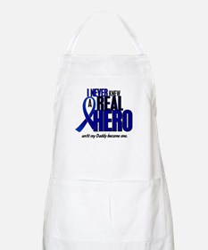 Never Knew A Hero 2 Blue (Daddy) BBQ Apron