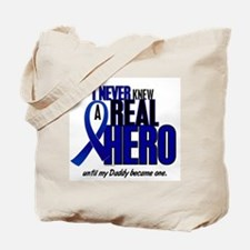 Never Knew A Hero 2 Blue (Daddy) Tote Bag