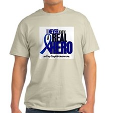 Never Knew A Hero 2 Blue (Daughter) T-Shirt