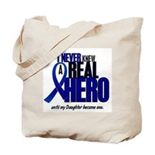 Never Knew A Hero 2 Blue (Daughter) Tote Bag