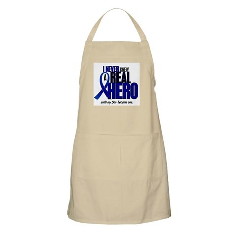 Never Knew A Hero 2 Blue (Son) BBQ Apron
