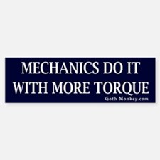 Mechanics Bumper Bumper Bumper Sticker