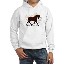 Rocky Mountain Horse Anatomy Hoodie