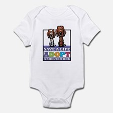 Adopt an Irish Setter Infant Bodysuit