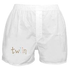 Twin Boy and Girl Twiin Boxer Shorts