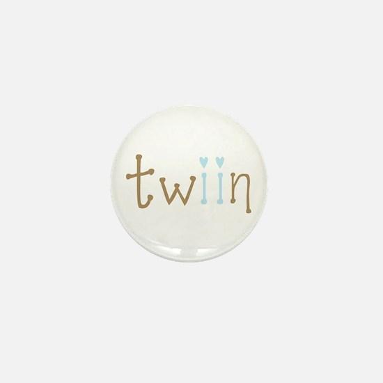 Twin Boys Twiin Mini Button