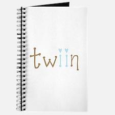 Twin Boys Twiin Journal