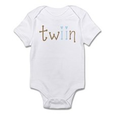 Twin Boys Twiin Onesie