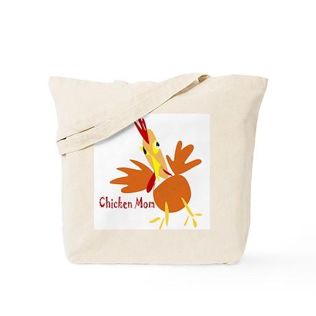 Chicken Mom Tote Bag