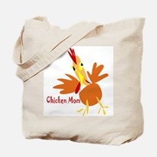 Chicken Mom Tote Bag