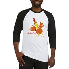 Chicken Mom Baseball Jersey